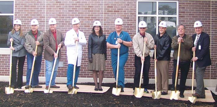 Groundbreaking at CCMH